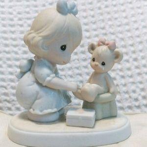 "Precious Moments 1993 ""Caring"" Figurine"